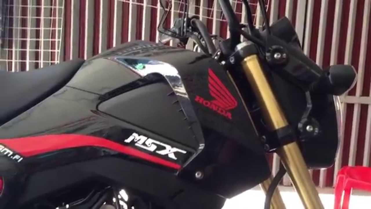 honda msx 125 new 2015 for cambodia ks shop 3m - youtube