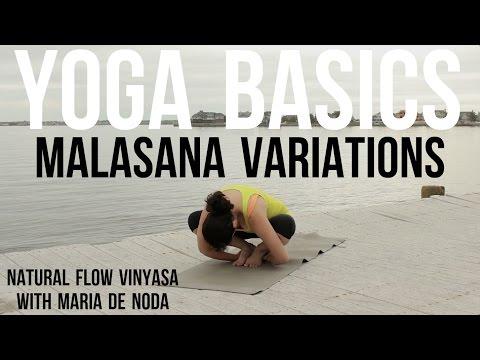 Yoga Basics: Malasana Variations with Maria De Noda