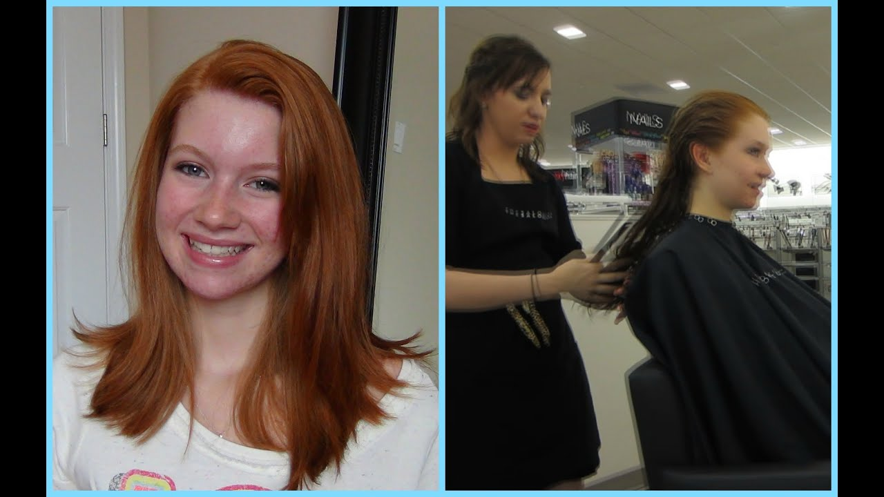 Come with Me to Get My Hair Cut! New Haircut! ♥ - YouTube
