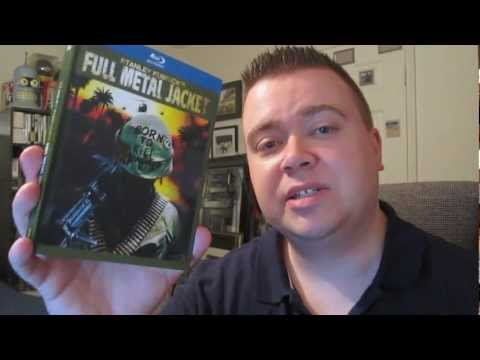 Full Metal Jacket 25th Anniversary Blu-Ray Digibok Review Unboxing
