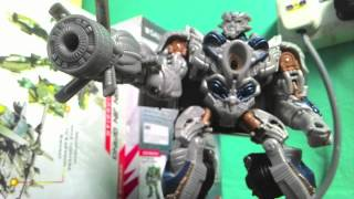 transformers aoe stop motion the death of galvatron
