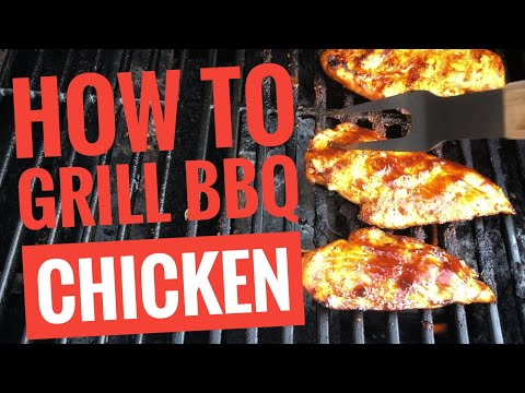 How to Barbecue Chicken