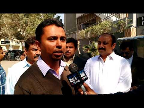 Protest at Hyderabad Press Club for Regularization of Sida Irrigation Wsip Remaining Employees