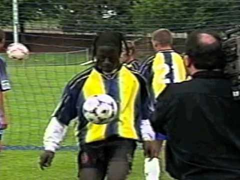 Alex Kajumulo The Bushman Soccer Skills