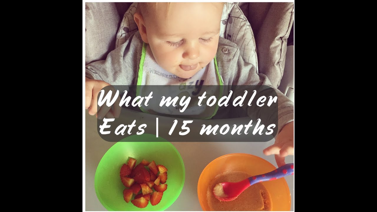 What My Toddler Eats | 15 Month Old