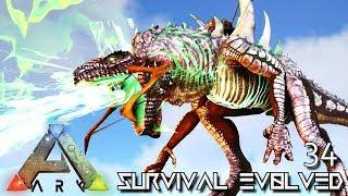 ARK: SURVIVAL EVOLVED - GODZILLA PERFECT TAME KAIJU GODZILLARK !!! E34 (ARK ETERNAL CRYSTAL ISLES)
