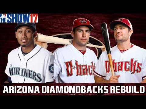 MLB 17 THE SHOW REBUILDING THE ARIZONA DIAMONDBACKS!! 30 TO 1 REBUILD #21