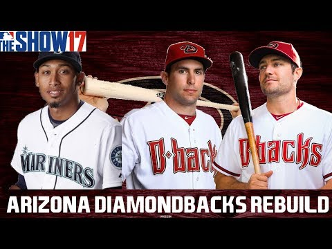 MLB 17 THE SHOW REBUILDING THE ARIZONA DIAMONDBACKS!! 30 TO 1 REBUILD #21