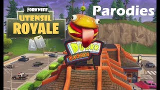 Forknife Utensil Royale by EPIC Dining & other Fortnite Parodies