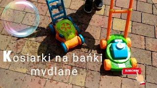 Kosiarka bańkowa na bańki mydlane 🔸HIT zabawka bańki mydlane dla dzieci 2019 🔸Norimpex i Smiki