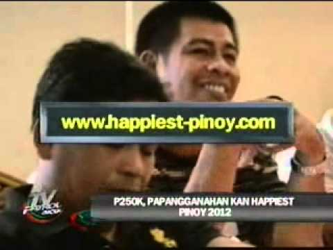 Nationwide Search for the Happiest Pinoy 2012 in TV Patrol Bicol