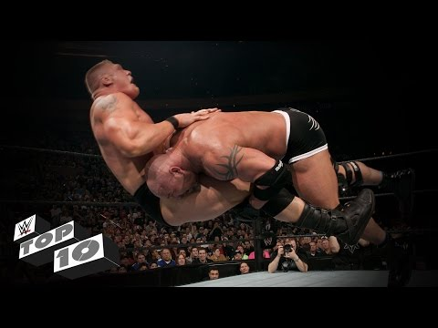 Thumbnail: Goldberg's Best Spears: WWE Top 10, Oct. 17, 2016