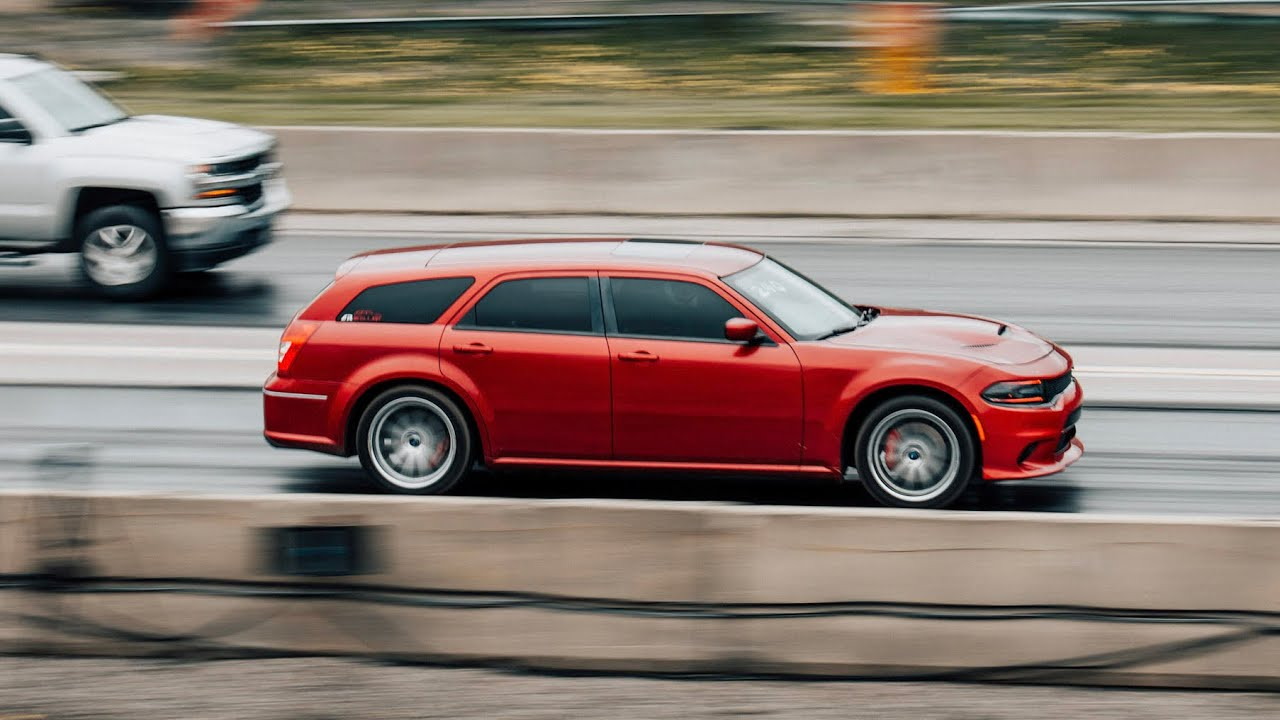 Racing the my SRT8 Dodge magnum in 2019 - YouTube