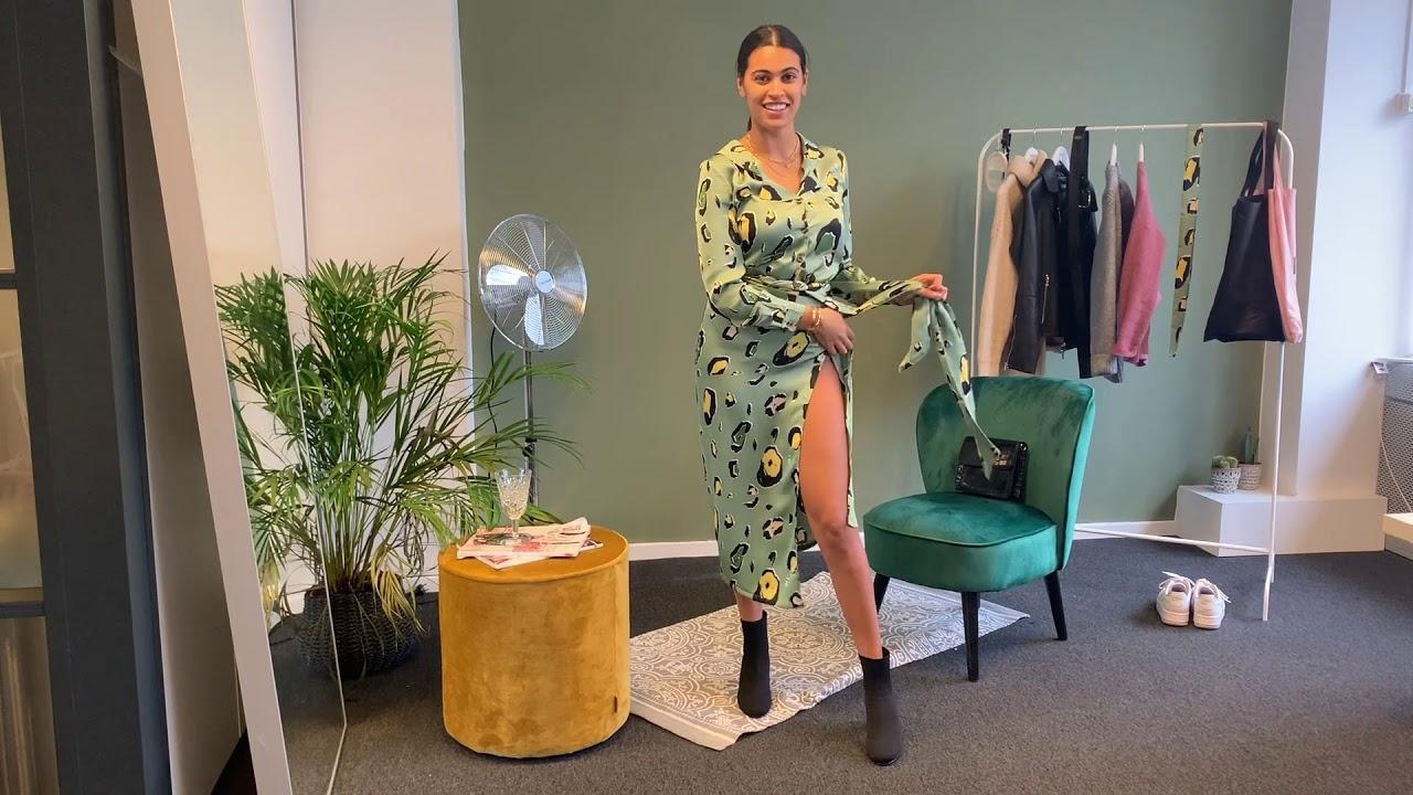 d8bfab4493be STYLING VIDEO - Green Leopard Jaspre Skirt - UNC Wardrobe - YouTube