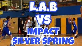 10/14/17 - Team L.A.B vs Impact Silver Spring - Coach Dayal - Marvin Guthrie
