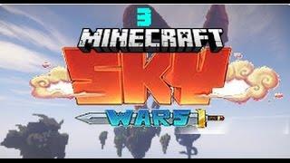 I FELL IN VOID BUT WIN!?!? | MiNECRAFT SKYWARS #3