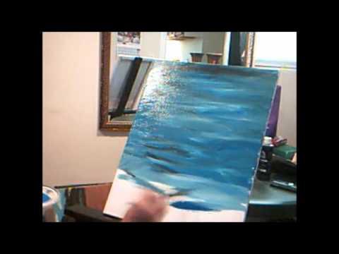 Como pintar agua pintura fondo basico youtube - Como pintar un radiador ...