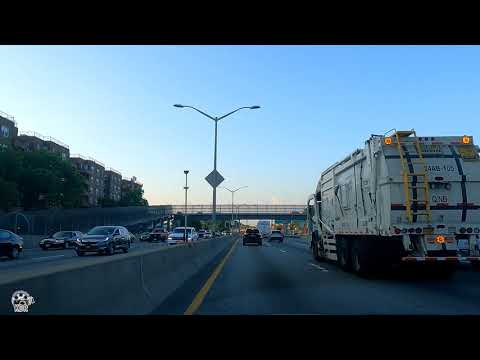 NYC DRIVE  4K⁶⁰  FROM JUNCTION BLVD TO JFK AIRPORT EARLY MORNING RIDE