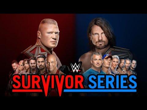 Smackdown vs Raw! Pillola blu o pillola rossa? Live di Survivor Series