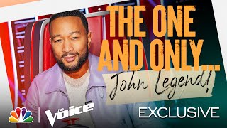 Coach John Wants to Make This Season Legendary - The Voice 2021