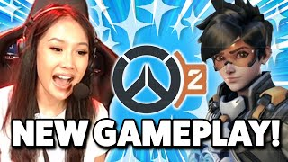 NEW FRAN OVERWATCH 2 GAMEPLAY & REACTION TO PVP & PVE MODE! ft. xQc, Seagull, Stylosa
