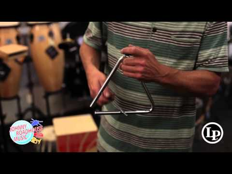 Chris Cruiks: LP Aspire Triangle Demonstration at JOHNNY ROADHOUSE MUSIC
