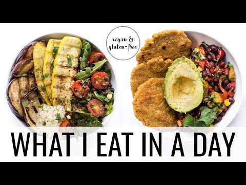 25. WHAT I EAT IN A DAY   vegan & gluten-free