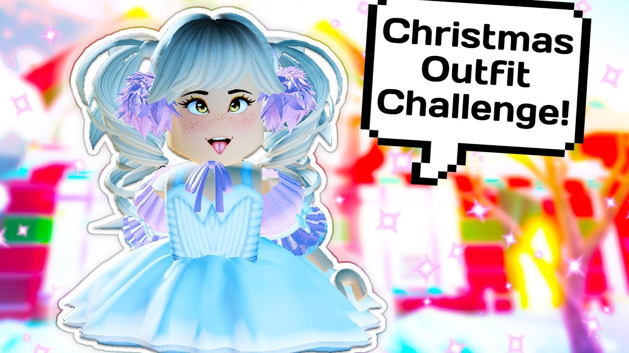 TRYING OUT MY FANS CHRISTMAS OUTFIT CHALLENGES ? // Roblox Royale High School 8