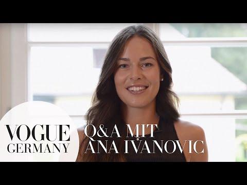 Ana Ivanović im Q&A über Reise-Essentials, Lieblings-Snacks & mehr |Ana Ivanovic im VOGUE Interview