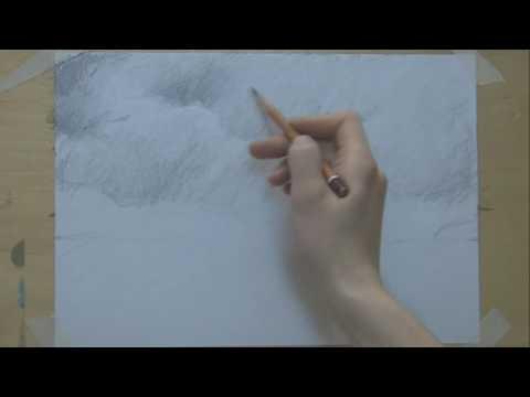 29  Рисуем морской пейзаж | рисуем карандашом