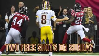 Washington bar offers free shots for every Kirk Cousins INT