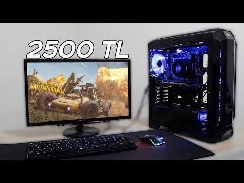 2500 TL'ye Oyun ve Yayın Odaklı Sistem Topluyoruz - PCH Alpha #3