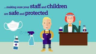 Click here to play the Protecting staff and children video