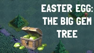 easter egg in clash of clans / night mode / insane gem tree | Clash of Clans