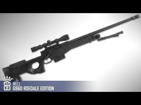 *Airsoft Review * WELL G96D Roedale Deluxe Edition | Deutsch - English Subtitle