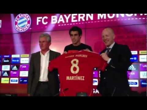 Javier Martínez - Bayern München stellt seinen 40 Millionen-Euro-Mann vor