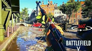 BATTLEFIELD 5 - 360 VIDEO (raw video)