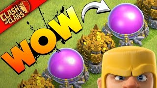 WOW... NOOB WASTES MASSIVE LOOT in Clash of Clans?