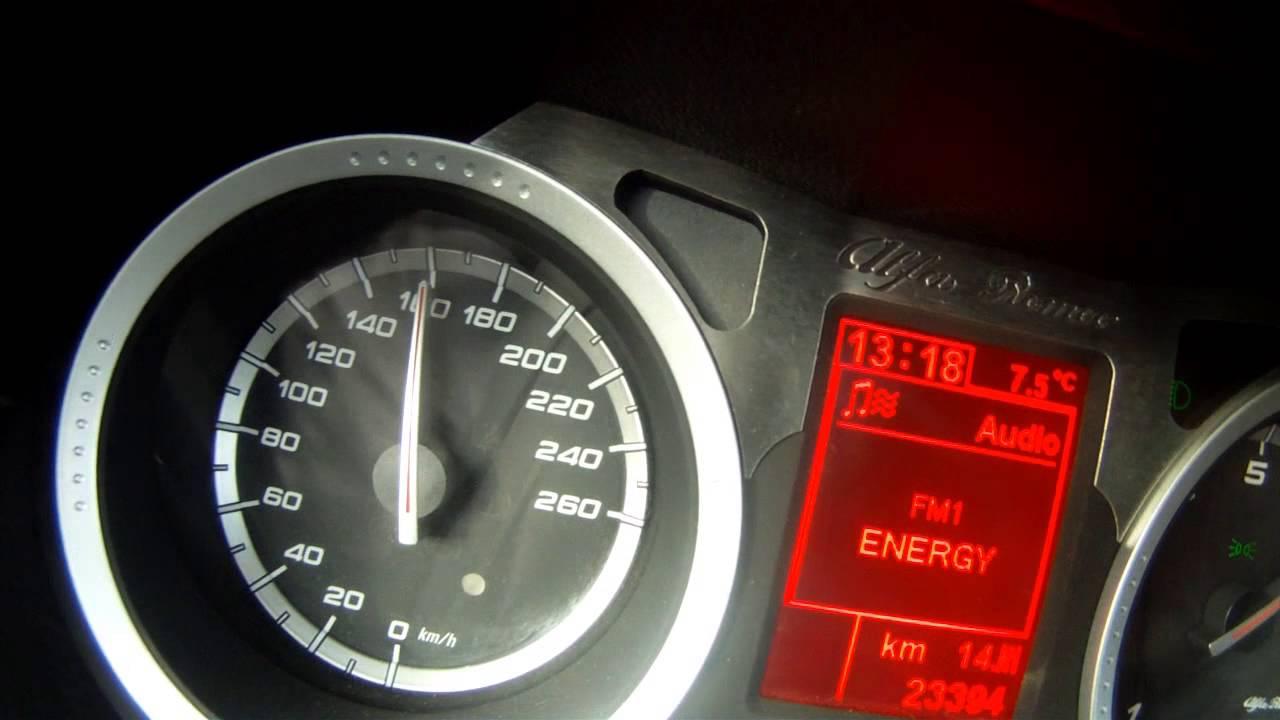 Alfa Romeo 159 Sw 3 2 V6 Q4 0 230km H Youtube