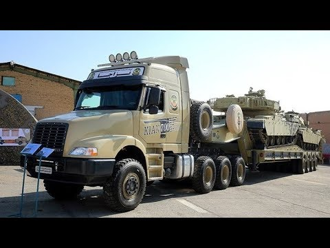Iran Army Ground Force, Kian 500, Kian 600, Kian 700 Tank Transporters تانك بر كيان ارتش