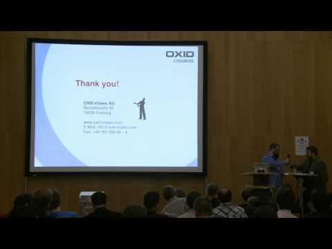 OXID Commons 2013 - OXID EShop 5.0