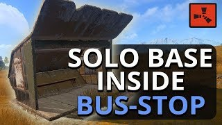 BUILDING BASE SOLO STOP BUS RUST