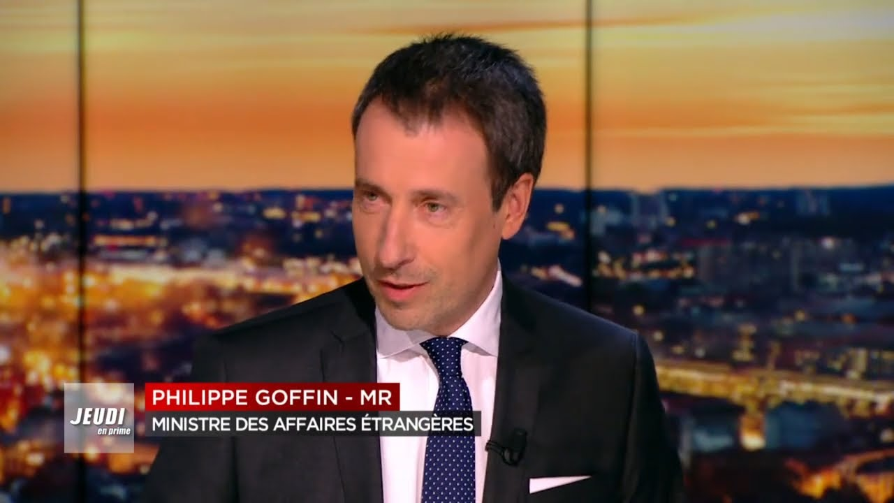 Philippe Goffin Ministre des Affaires étrangères et de la Défense