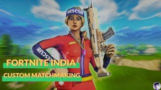 $100 GIVEAWAY || CUSTOM MATCHMAKING || FORTNITE INDIA LIVE STREAM || Creator Code - sidlegendyt ||