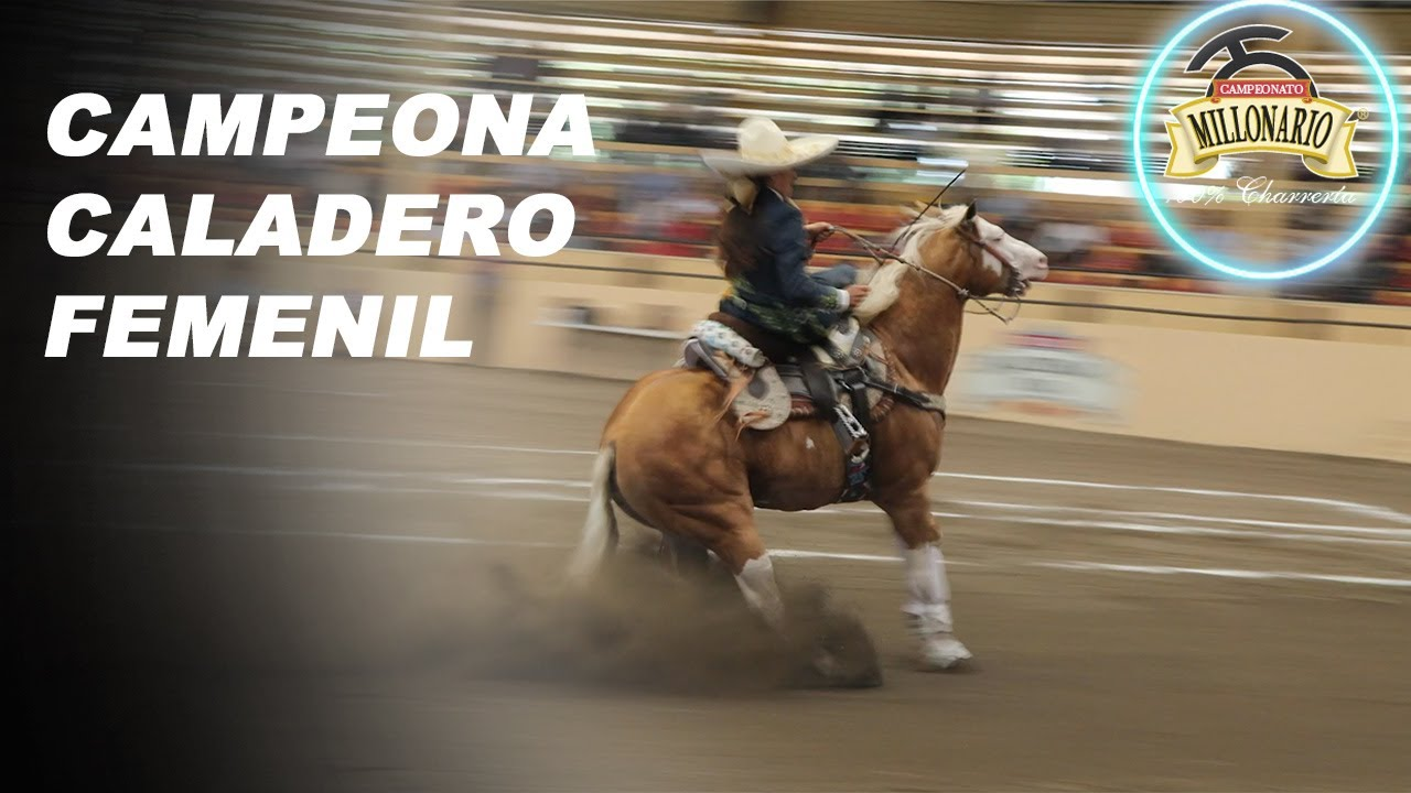 GABY ESPARZA CAMPEONA-CALADERO FEMENIL THV MILLONARIO 2020