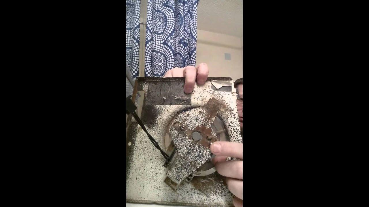 How to repair bathroom exhaust fan not working youtube - Bathroom exhaust fan stopped working ...