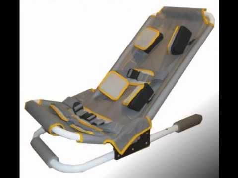 Silla de ba o multirreclinable aluminio youtube - Silla de bano para discapacitados ...