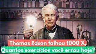 Como estudar por questões como Thomas Edison