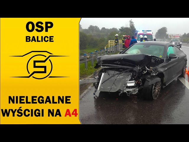 🔥 NIELEGALNE WYŚCIGI NA A4! 🔥 - OSP BALICE