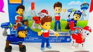 Открываем набор игрушек Щенячий Патруль на канале Queens Park Toys